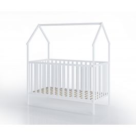 FabiMax Kinderbett Schlafmütze, 70 x 140 cm, weiß