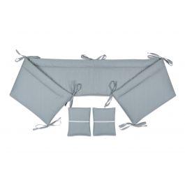 FabiMax Nestchen für Beistellbett Pro, 90x40 cm, Amelie grau