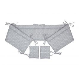 FabiMax Nestchen für Beistellbett Pro, 90x40 cm, graue Würfel