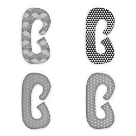 FabiMax Schwangerschaftskissen in  C-Form, ca. 115 x 55 cm, abnehmbarer Bezug